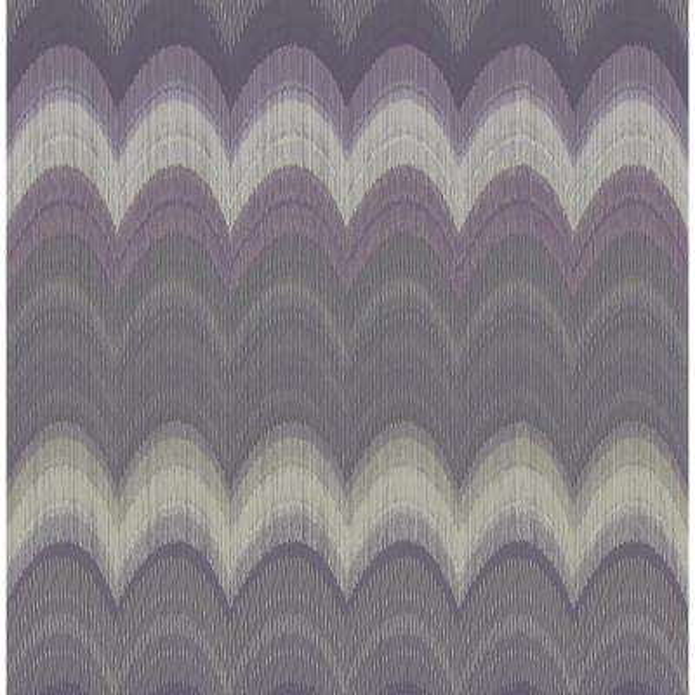 August Purple Wave Wallpaper Sample