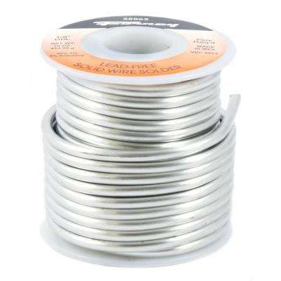 1/8 in. 1 lb. Lead Free Solder 95/5 Tin Antimony