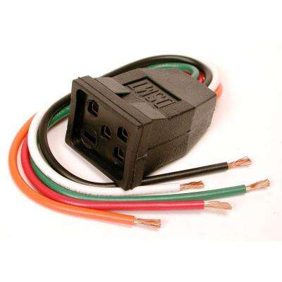 10 in. Evaporative Cooler Motor Pigtail Receptacle