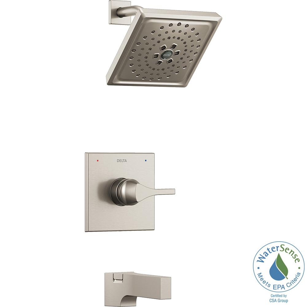 outdoor kitchen faucets delta zura 1 handle tub and shower faucet trim kit with 14474