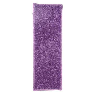 OurSpace Purple 2 ft. x 6 ft. Bright Runner Rug