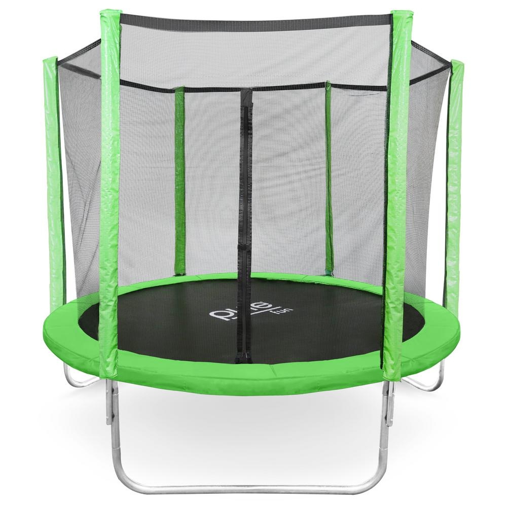 Pure Fun Dura-Bounce 8 ft. Trampoline and Enclosure Set