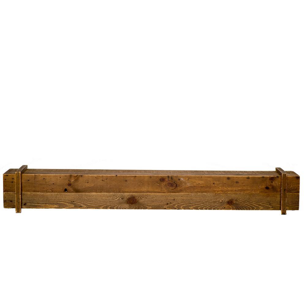 elements cavalli rustic 45 in x 6 3 in mantel shelf m911 45 ru mo rh homedepot com Build a Fireplace Mantel Shelf Home Depot Fireplace Mantel Shelf