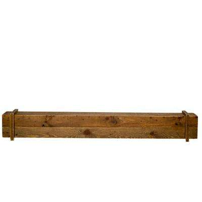 Cavalli Rustic 45 in. x 6.3 in. Mantel Shelf