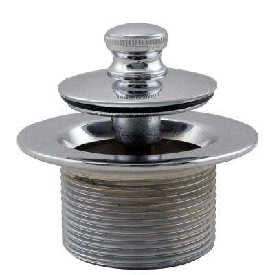 1-1/2 in. NPSM Coarse Thread Twist-and-Close Bath Drain Plug