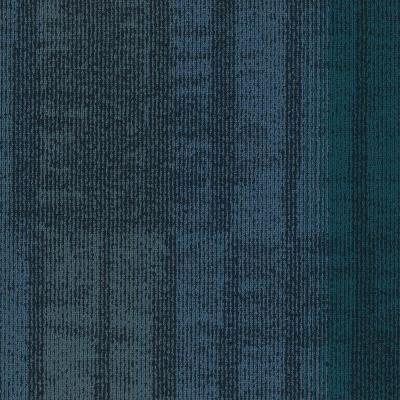 Framer Blue 24 in. x 24 in. Carpet Tiles (8syds. case/carton - 18 Tiles case/carton)