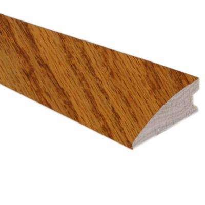 Oak Butterscotch 3/4 in. Thick x 2-1/4 in. Wide x 78 in. Length Hardwood Flush-Mount Reducer Molding
