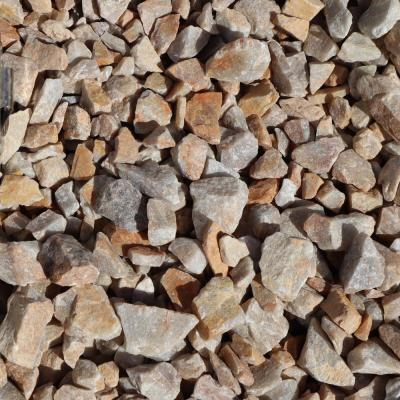 0.50 cu. ft. 40 lbs. 3/4 in. Golden Honey Quartz Decorative Landscaping Gravel (20-Bag Pallet)