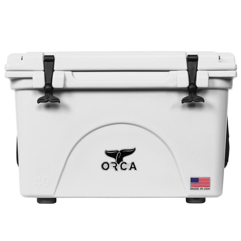 ORCA White 40 Qt  Cooler