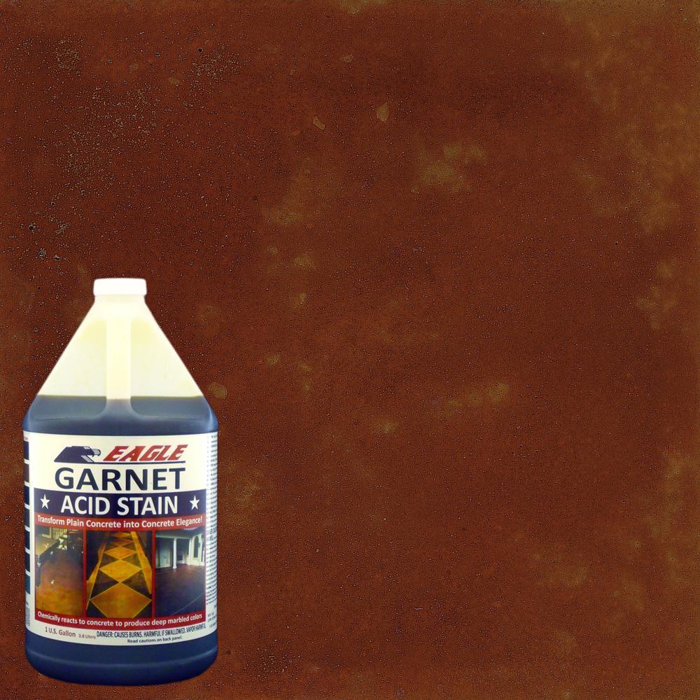 Eagle 1 gal. Garnet Concrete Acid Stain