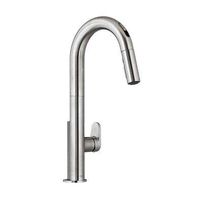 Beale Single-Handle Pull-Down Sprayer Kitchen Faucet with Selectronic Touchless Technology in Stainless Steel