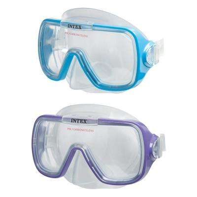 Wave Rider Blue and Purple Masks (2-Pack)