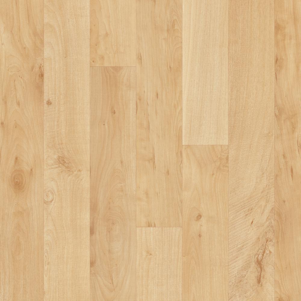 Take Home Sample - Hazelnut Oak Blonde Vinyl Sheet - 6 in. x 9 in.