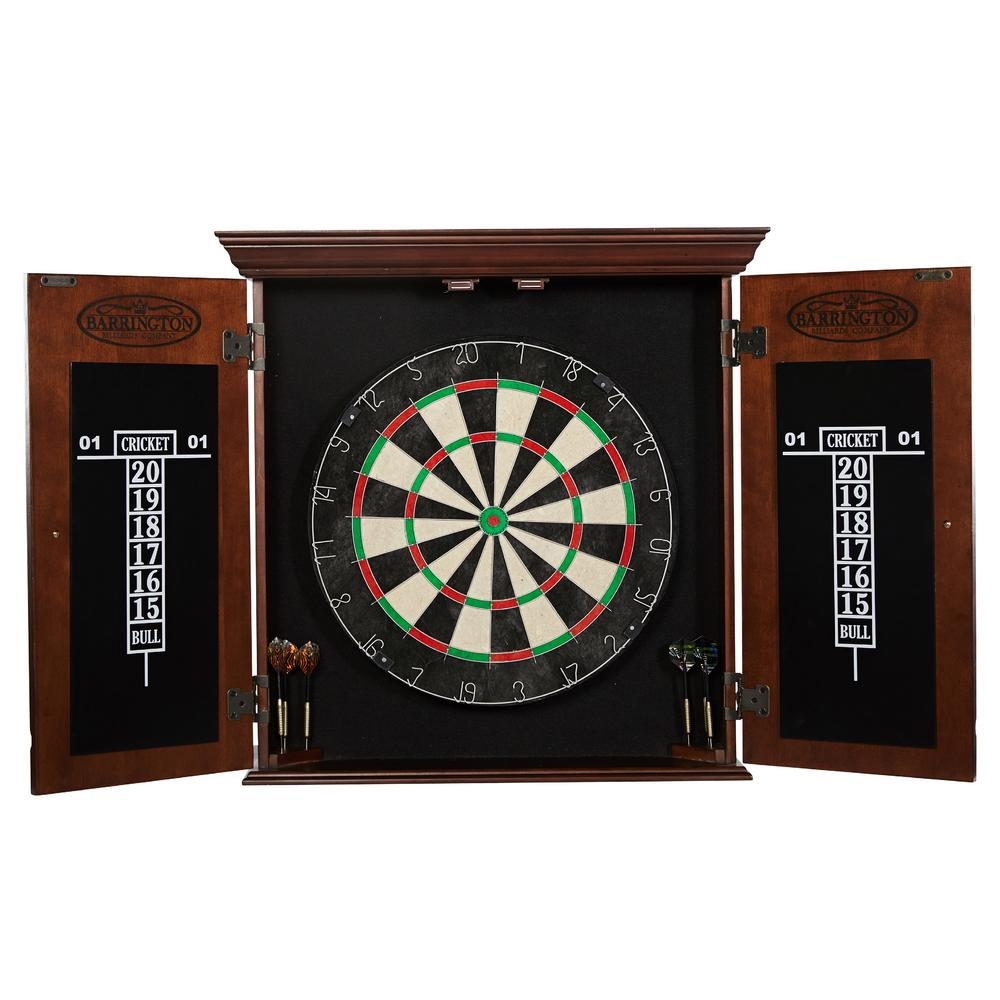 Chatham Bristle Dart Board And Cabinet Set