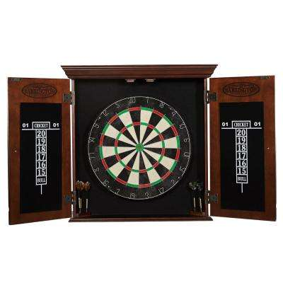Chatham Bristle Dart Board and Cabinet Set