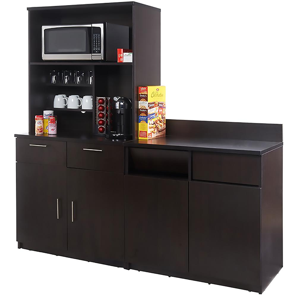 Coffee Kitchen Espresso Sideboard With Lunch Break Room Functionality With Assembled Commercial