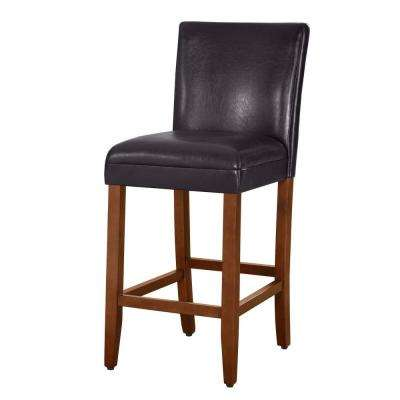 luxury brownless 29 in. Brown Bar Stool