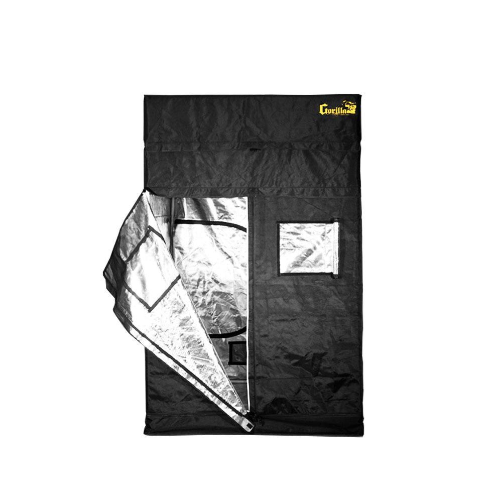 5 ft. W x 5 ft. D x 7 ft. H Heavy Duty Black Grow Tent