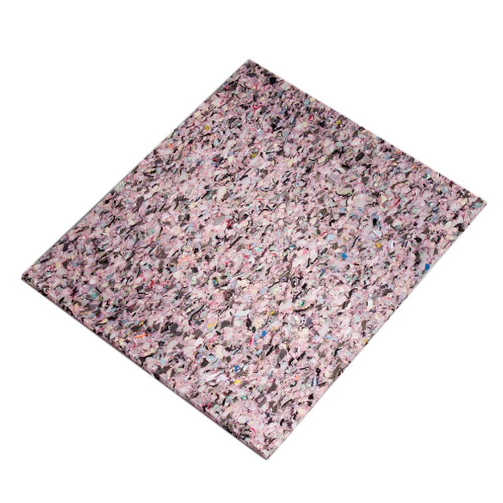 1/2 in. Thick 8 lb. Density Carpet Cushion