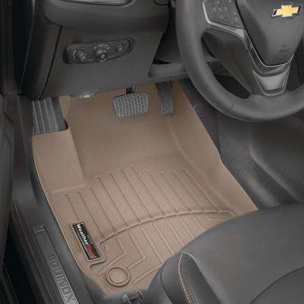 WeatherTech Floor Mats FloorLiner for Buick Regal Tan 2nd Row 2011-2017