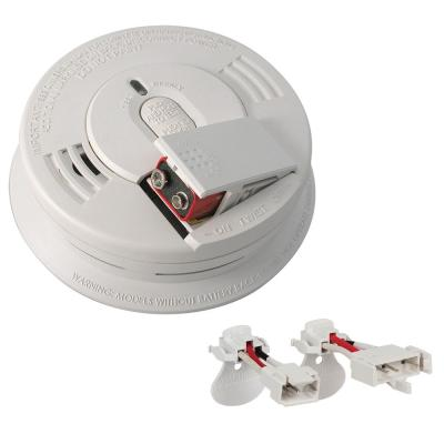 Firex Hardwired Combination Smoke and Carbon Monoxide Detector with Adapters and Voice Alarm (2-Pack)