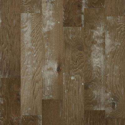 Take Home Sample - Major Event Hickory Stonewash Engineered Click Hardwood Flooring - 9.25 in. x 8 in.