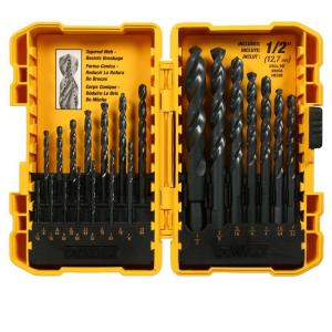 Dewalt Black Oxide Drill Bit Set (21-Piece) by DEWALT