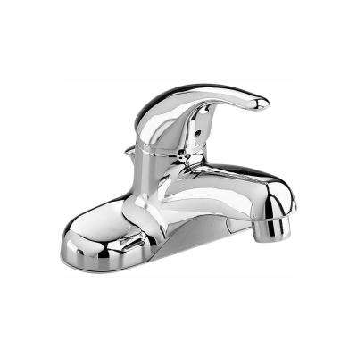 Colony 4 in. Centerset Single-Handle Low-Arc Bathroom Faucet in Chrome