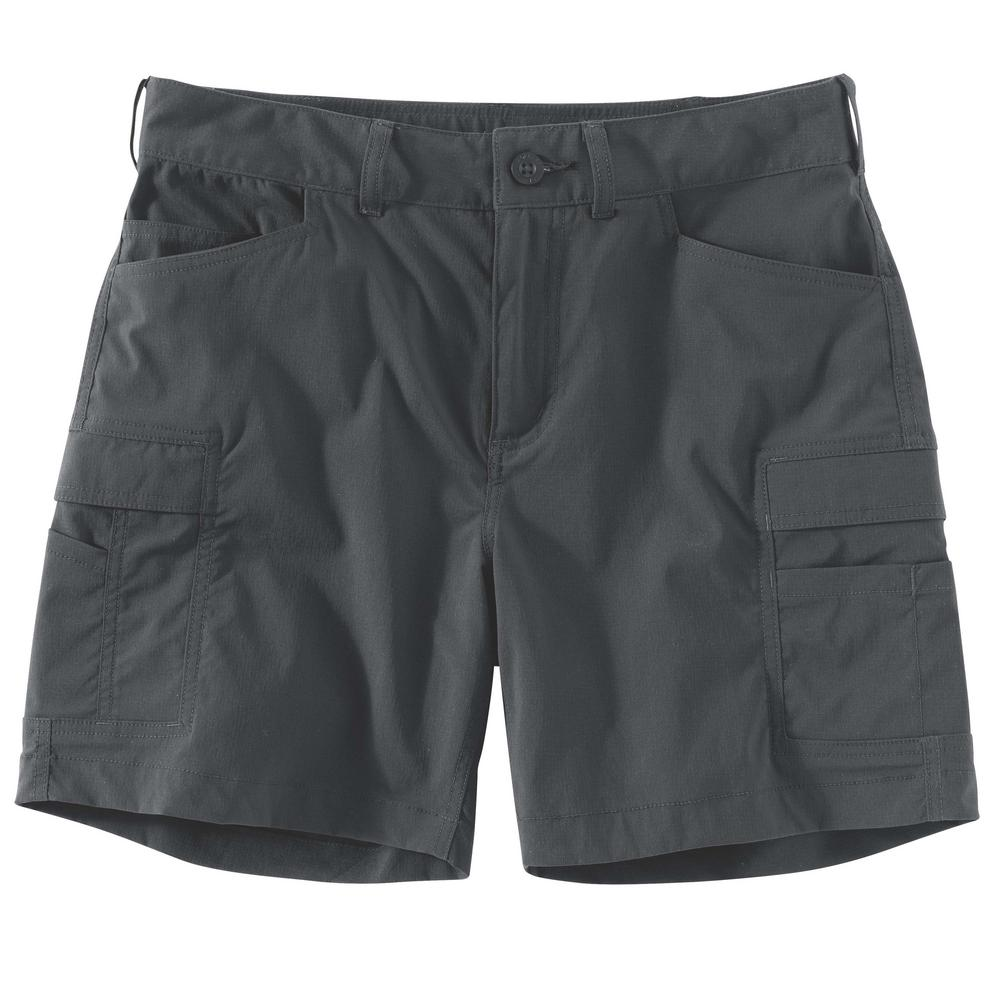 search for newest wide selection complimentary shipping Carhartt Women's 4 Shadow Nylon/Spandex Straight Fit Force Madden Cargo  Short