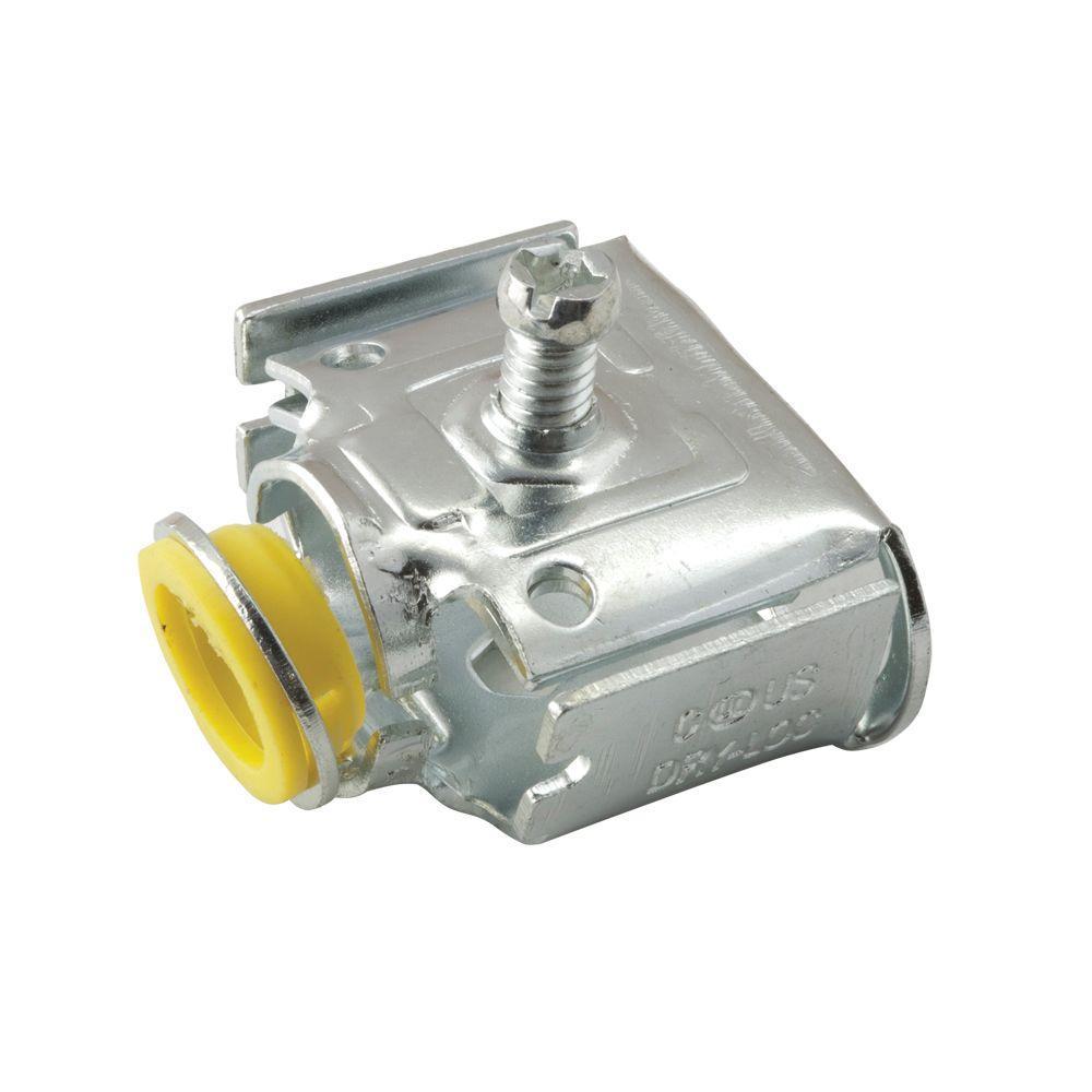 AC/MC 1/2 in. REDI-LOC Duplex Cable Connector (25-Pack)