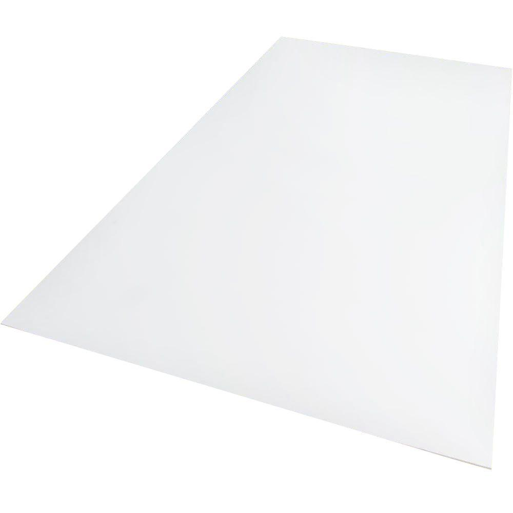 18 in. x 24 in. x 0.118 in. Foam PVC White
