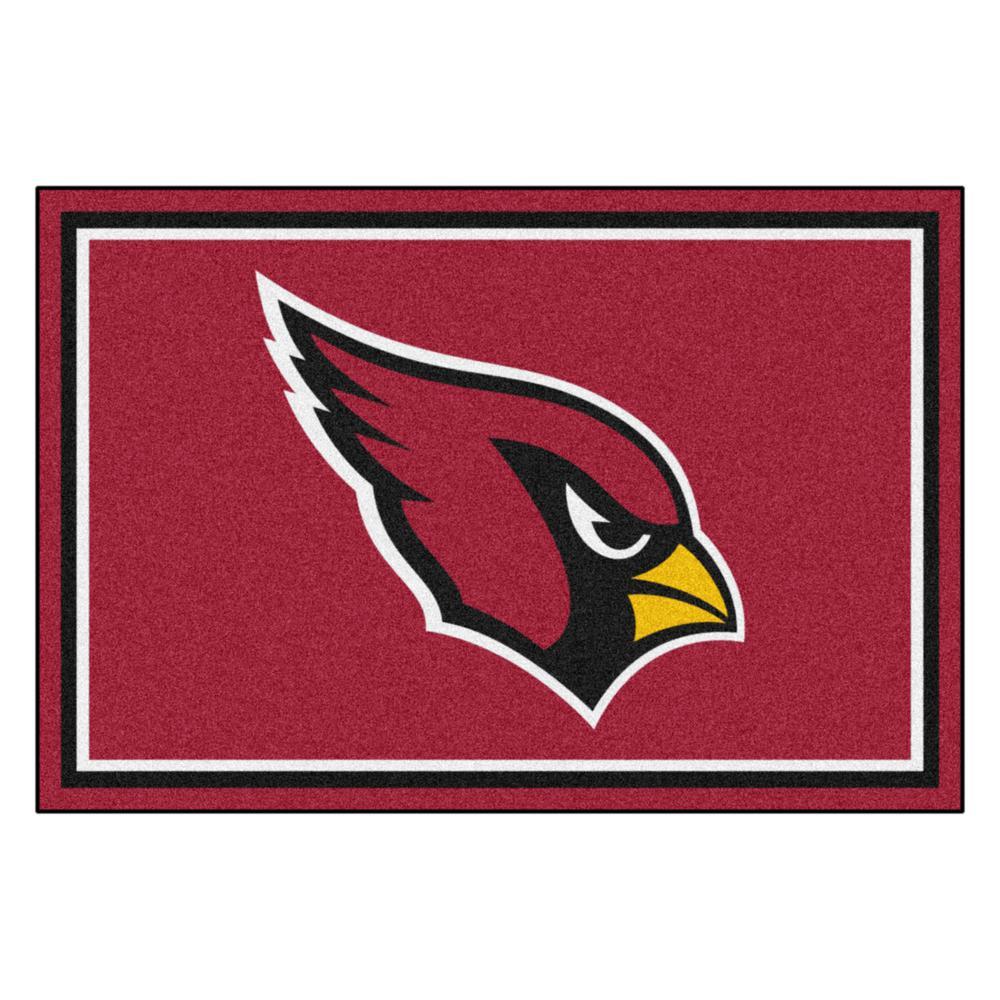 Arizona Cardinals 5 ft. x 8 ft. Area Rug