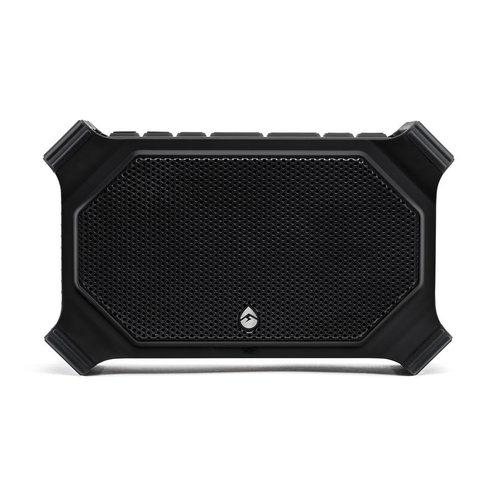 ECOSLATE Waterproof Bluetooth Speaker, Black