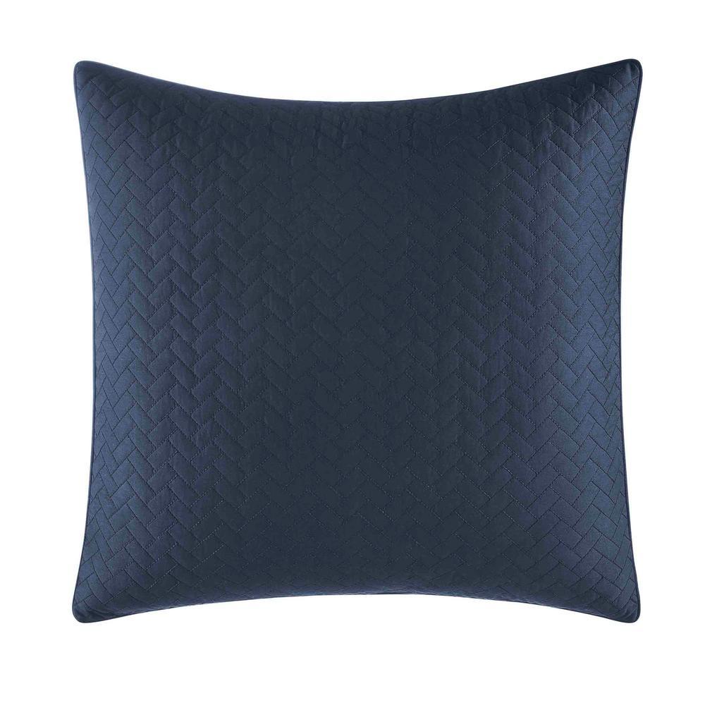 Candler Navy Euro Pillow Cover