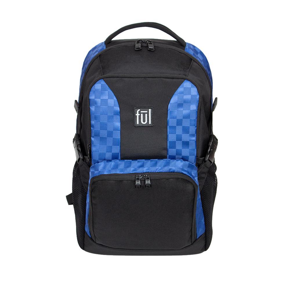 Jasper 19 in. Blue Laptop Backpack