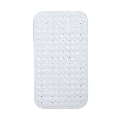 15 in. x 27.5 in. Eco-Friendly Bath Mat in White