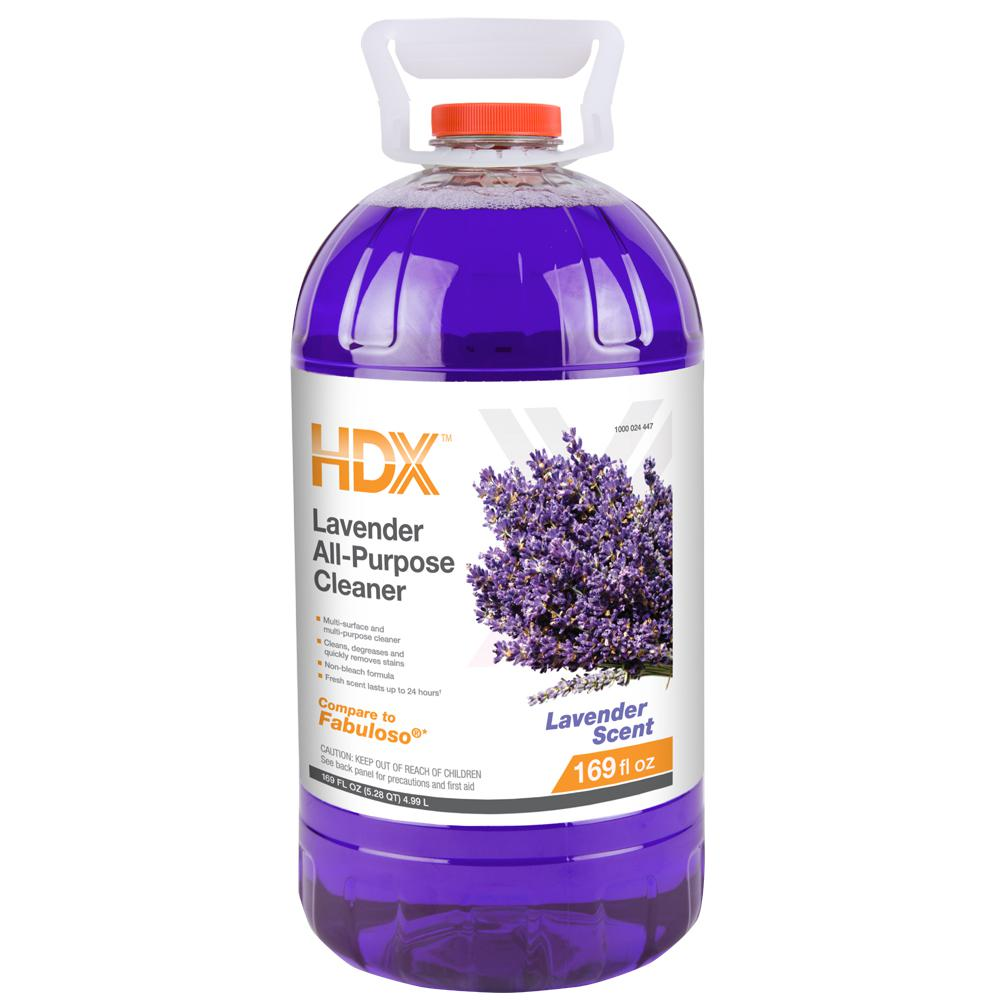 hdx 169 oz lavender all purpose cleaner hdx169apc the. Black Bedroom Furniture Sets. Home Design Ideas