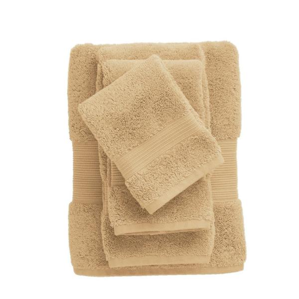 The Company Store Legends Regal Egyptian Cotton Wash Cloth in Butterscotch