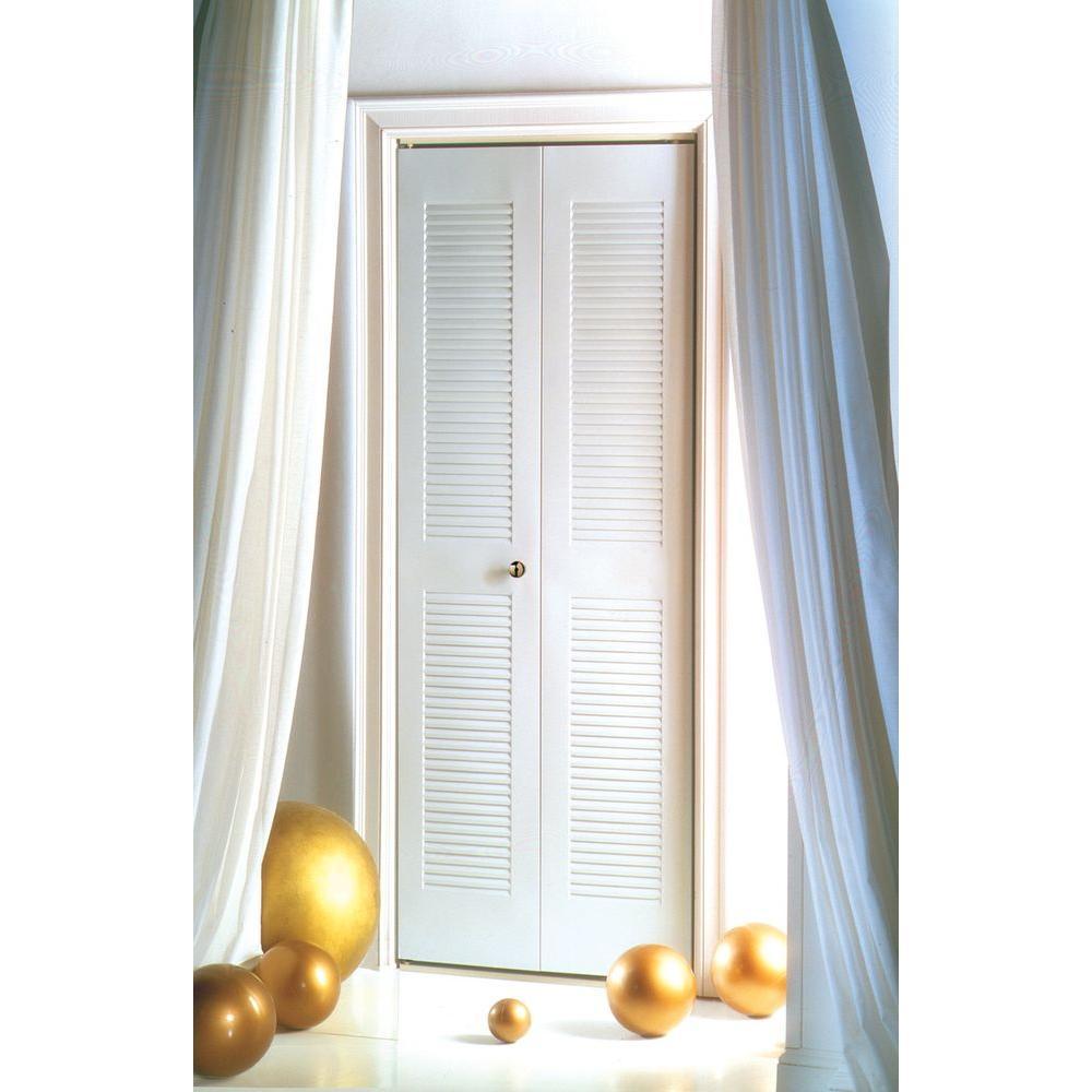 Merveilleux Steel Bright White Universal Bi Fold Door
