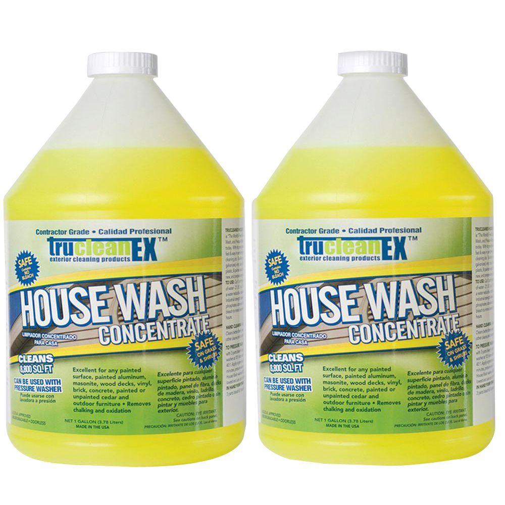 CFI 1-gal. TruCleanEX House Wash Cleaner Concentrate (2-Pack)