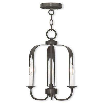 Addison 3-Light English Bronze Mini Chandelier
