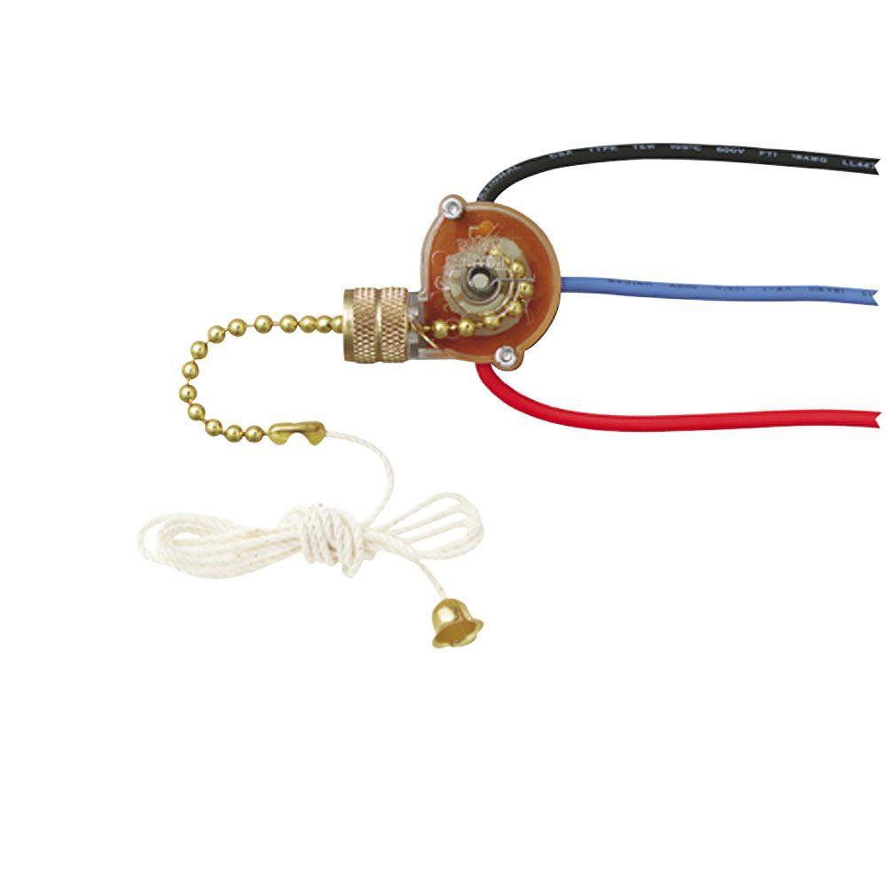3-Way Fan Light Switch