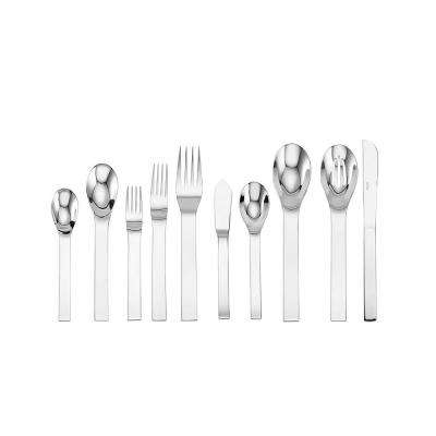 Aria 45-Piece Stainless Steel Flatware Set