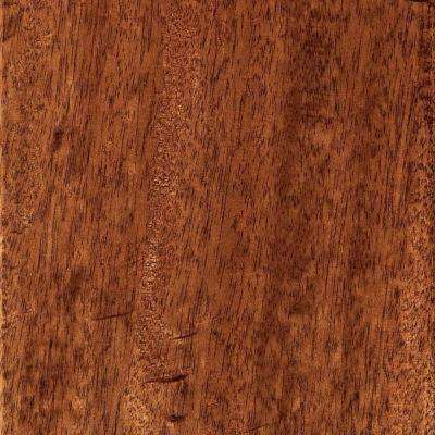 Take Home Sample - Hand Scraped Mahogany Natural Engineered Hardwood Flooring - 5 in. x 7 in.