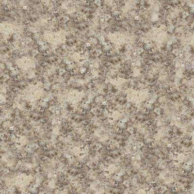 4 in. x 4 in. Natural Quartz Vanity Top Sample in Khaki Cream