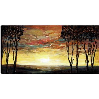Sunset Times II, Landscape Art, Fresh Printed Canvas Wall Art Decor Gallery Wrapped Wall Art