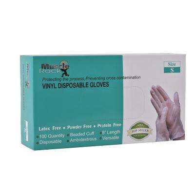 Small Vinyl Disposable Gloves (1000-Case)