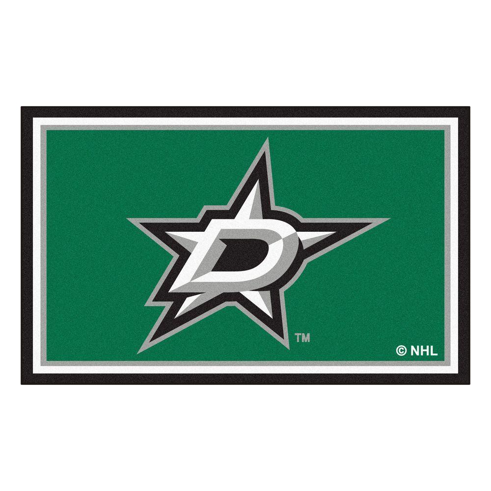 FANMATS Dallas Stars 4 ft. x 6 ft. Area Rug-10643 - The ...Dallas Stars