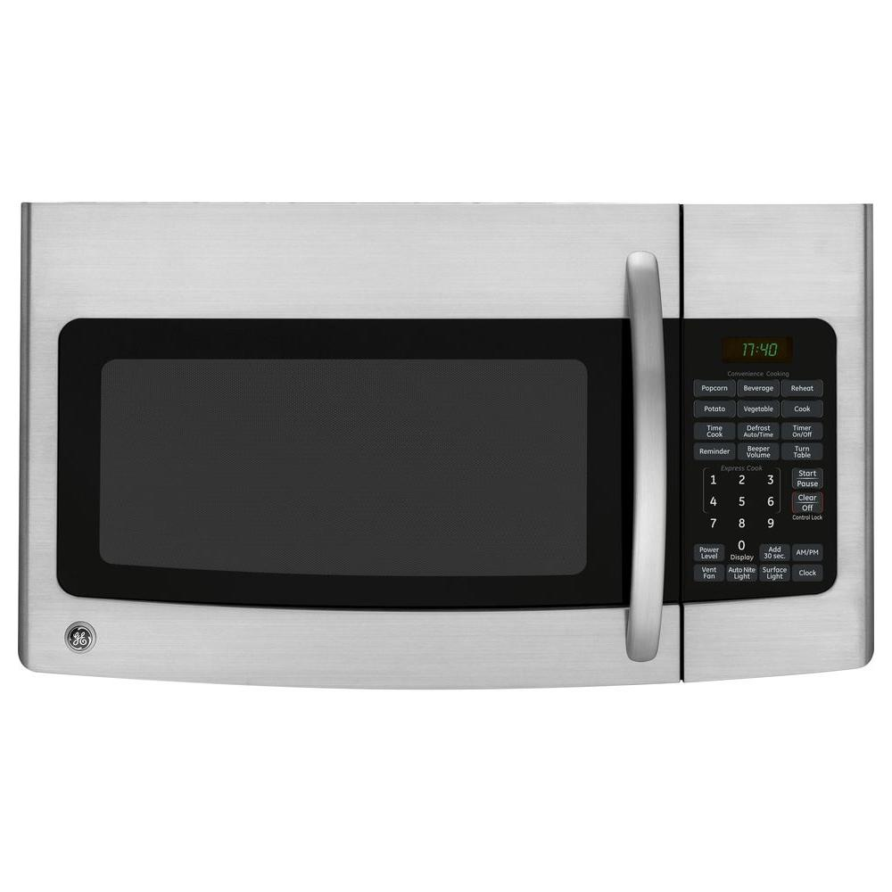 GE Spacemaker 1.7 cu. ft. Over the Range Microwave in Stainless Steel-DISCONTINUED