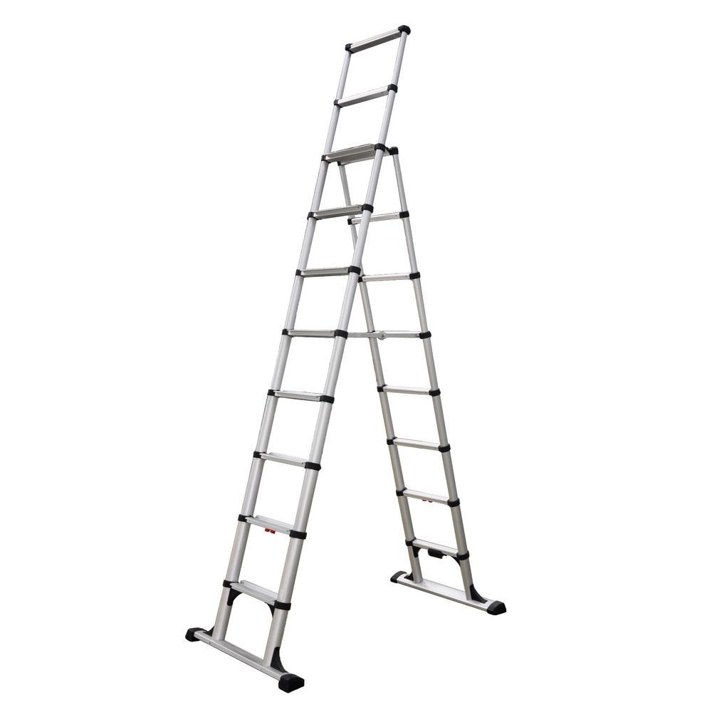 Telesteps 14 ft. OSHA Compliant Reach Professional Wide Step ...